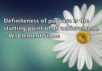 Definite Purpose
