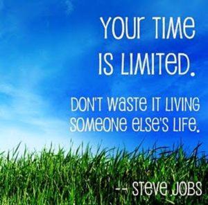Limited Time - Steve Jobs